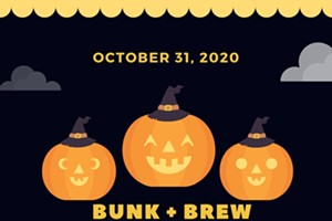 Bunk + Brew Halloween Dress Up Party