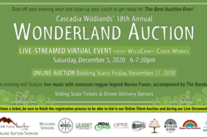 Cascadia Wildlands 18th Annual Auction