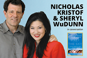 Author! Author!: NICHOLAS KRISTOF and SHERYL WuDUNN