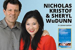 Author! Author!: NICHOLAS KRISTOF and SHERYL WuDUNN