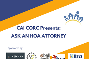 Ask An HOA Attorney - Kickoff Event
