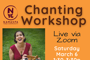 Chanting Workshop with Jenni Peskin