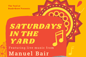 Bunk+Brew Presents: Saturdays in the Yard with Manuel Bair - Live Music!