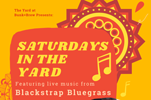 Saturdays in the Yard with Blackstrap Bluegrass - Live Music!