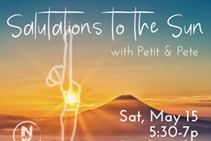 Salutations to the Sun with Petit Davina & Pete Kartsounes