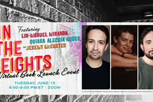 Zoom Author Event: In the Heights by Lin-Manuel Miranda, Quiara Alegria Hudes, and Jeremy McCarter