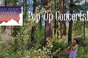 High Desert Chamber Music Pop-Up Concerts!
