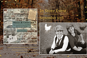 Author Event: Mirrors and Closets: The Complex Journey of LGBTQ Twins & Their Siblings by Hava and Dani Dennenberg
