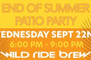 End of Summer Patio Party
