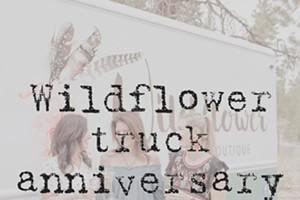 Wildflower Truck Anniversary Party