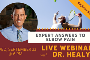 FREE Live Webinar: Expert Answers to Elbow Pain