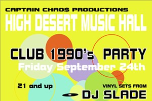 90's Club Dance Party