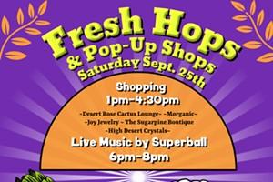 Fresh Hops & Pop Up Shops
