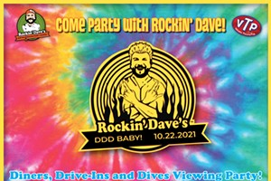 Rockin' Dave's Diners, Drive-Ins, and Dives Viewing Party