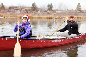 Holiday Lights Winter Paddle Parade