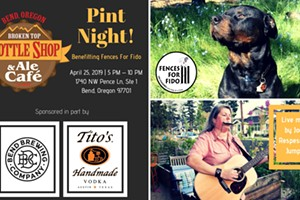 Pint Night Supporting Fences For Fido
