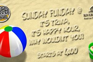 Sunday Funday Trivia and Happy Hour