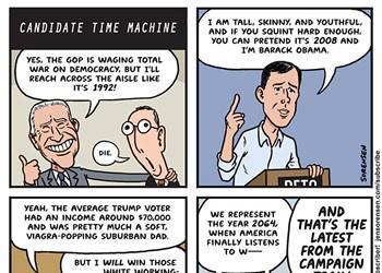 Candidate Time Machine