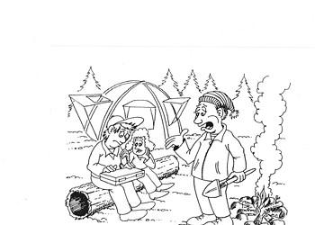 TGIF: Camping!