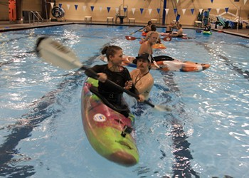 Diary Entry: Learning to Whitewater Kayak