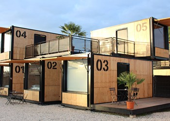 Nomadic Shipping Container Hotel Rooms