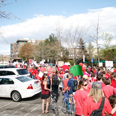 March for Students May 8