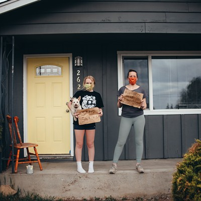 A Bend Photographer's Mission to Document Resiliency, from the Sidewalk