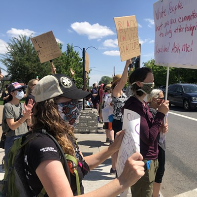 Bend's Black Lives Matter Demonstration Was a Peaceful Rally and March