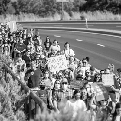 Take Back the Butte Protest