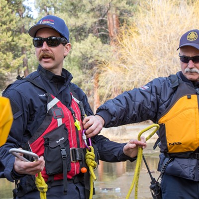 Firefighter Ice Rescue Training - Thurs., Feb. 8