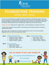 Foster Parent Foundations Training - Uploaded by Dhs Certifier