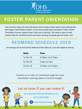Foster Parent Orientation - Uploaded by Dhs Certifier