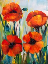 Poppies magnet gift - Uploaded by Karla Proud