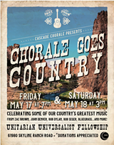 The Cascade Chorale Goes Country! - Uploaded by Barbara Rich