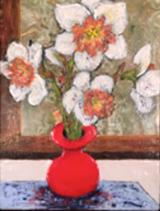 Spring, encaustic on wood panel - Uploaded by KKR