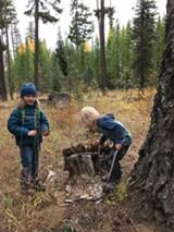 Kids in nature - Uploaded by DeschutesLandTrust1