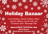 Visit the Holiday Bazaar at Bend Church - Uploaded by thatgentrychick