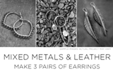 Jewelry Making-Mixed Metal and Leather Workshop - Uploaded by Maggy Mason-Hughes