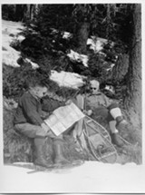 Robert Sawyer (left) and Lewis MacArthur - Uploaded by lizg