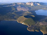 Paulina Lake and East Lake, Newberry National Volcanic Monument - Uploaded by dmckay