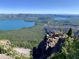 Newberry Volcano, cradled by East and West Paulina Lakes - Uploaded by gvalido