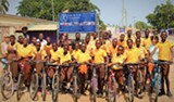 VOLTA REVIVAL FOUNDATION - Bicycles for students is an educational opportunity project to provide bicycles to students who live very far from their schools in order to empower attendance, and educational focus.
