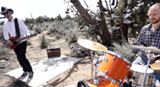 """From our video """"I C U Coyote"""" shot at the Shoe Tree. - Uploaded by pauleddymusic"""