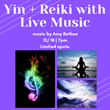 Yin Yoga + Reiki with Live Music - Uploaded by Helen Cloots