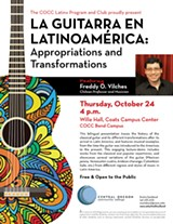 Guitar lecture at COCC traces instrument's path in Latin America - Uploaded by MPEREZ