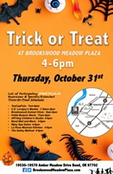 Trick or Treat At Brookswood Meadow Plaza on Halloween! - Uploaded by Cricket Kadoch