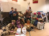 Christmas Eve Wagon Train 2018 - Uploaded by Mark McConnell
