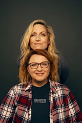 Comedians Jackie Kashian and Laurie Kilmartin - Uploaded by bendcomedy.com