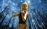 Shady GroOove violinist Leah Naftalin. - Uploaded by Mike GroOove