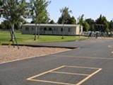 FOBL Book Seller - Modular Building on Ponderosa Elementary School Grounds - Uploaded by Toby Bayard
